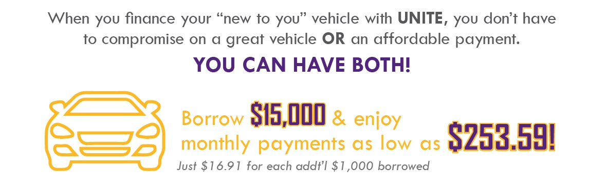 Don't compromise on a great vehicle or affordable payment - you can have them both!